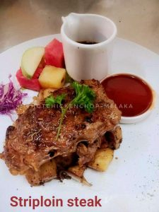Striploin Steak-Melaka Western Food